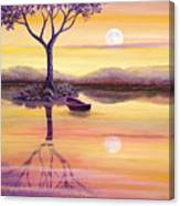 I Dreamt Of The Moon Canvas Print