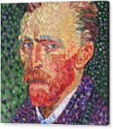 I Heart Van Gogh Portrait Of Vincent Canvas Print
