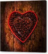 I Love Coffee 4 Canvas Print