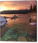 I Love Lake Tahoe Canvas Print