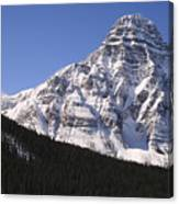 I Love The Mountains Of Banff National Park Canvas Print