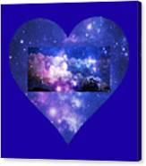 I Love The Night Sky Canvas Print