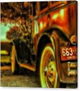 I Love This #classiccar Photo I Took In Canvas Print