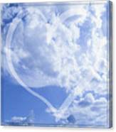 I Love You To The Clouds And Back Canvas Print