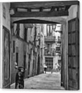 Barcelona Alleys Canvas Print