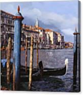 I Pali Blu Canvas Print