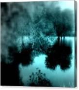 I Riflessi Della Nebbia Canvas Print