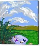 I See Horses Canvas Print