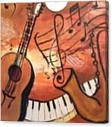 I See Music #2 Canvas Print