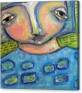 I See Myself Love Canvas Print