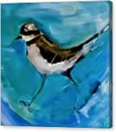 I See You Said The Killdeer As She Passed By Canvas Print