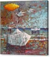 I Sogni Di Carta Canvas Print