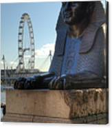 I Sphinx It Is The London Eye Canvas Print