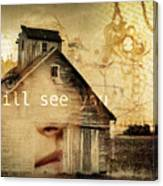 I Still See You In My Dreams Canvas Print