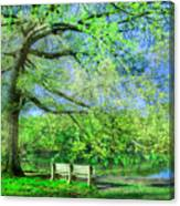 I Will Wait For You In Summer Canvas Print