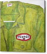 I Worked At Texaco Canvas Print