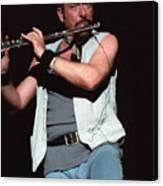 Ian Anderson Of Jethro Tull Canvas Print