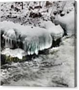 Ice 4 Canvas Print