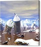 Ice Caffe Canvas Print