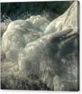 Ice Cap 2 Canvas Print