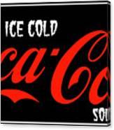 Ice Cold Coke 8 Coca Cola Art Canvas Print