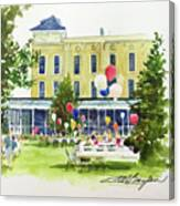 Ice Cream Social And Strawberry Festival, Lakeside, Oh Canvas Print
