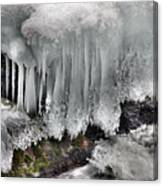 Ice Formation 2 Canvas Print