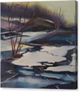 Ice Fragments Canvas Print