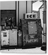 Ice - No Parking Canvas Print