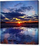 Ice Risen Canvas Print