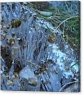 Ice Shards Canvas Print