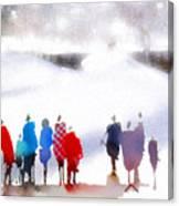 Ice Space Canvas Print