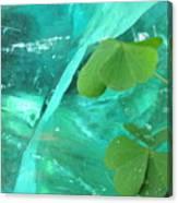 Ice Stone Canvas Print