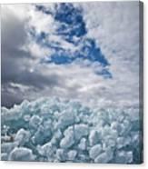 Ice Wall II Canvas Print
