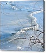 Ice Waves Canvas Print