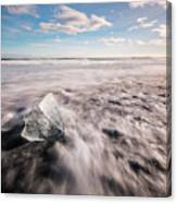 Iceland And Glaciers Canvas Print