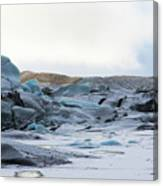 Iceland Glacier Mountains Sky Clouds Iceland 2 2142018 1742.jpg Canvas Print