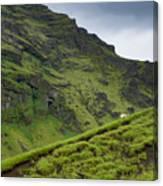 Iceland Hill Canvas Print