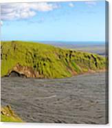 Iceland Landscape Near Vik Canvas Print