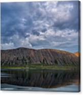 Iceland Mountain Reflections  Canvas Print