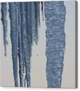 Icicles 2 Canvas Print