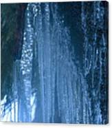 Icicles  5 Canvas Print