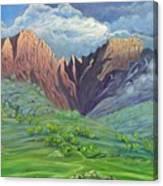 Icidi Valley Canvas Print