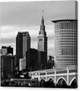Iconic Cleveland Canvas Print