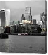 Iconic London Skyline Canvas Print