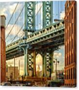 Iconic Manhattan Canvas Print