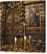 Iconostasis - Church Of Elijah The Prophet Canvas Print