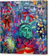 Icons Of Freedom Canvas Print