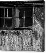 I.c.r.r. Steam Engine Cab Canvas Print