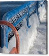 Icy Aftermath Canvas Print